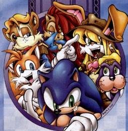 """Will u kom bij my """"Sonic Freedom Fighters"""" spot?"""