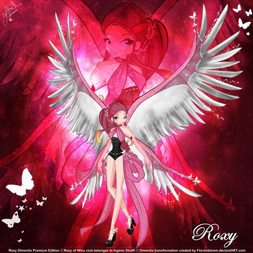 Winx Club Roxy wallpaper called Winx Roxy Dimentix!: Premium Dimentix!