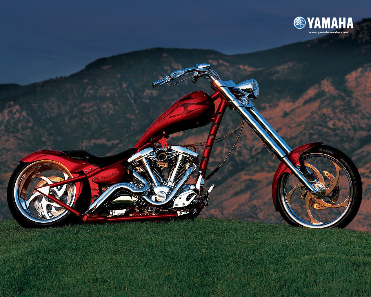 Yamaha Chopper Motorcycle 1280 x 1024 · 503 kB · jpeg