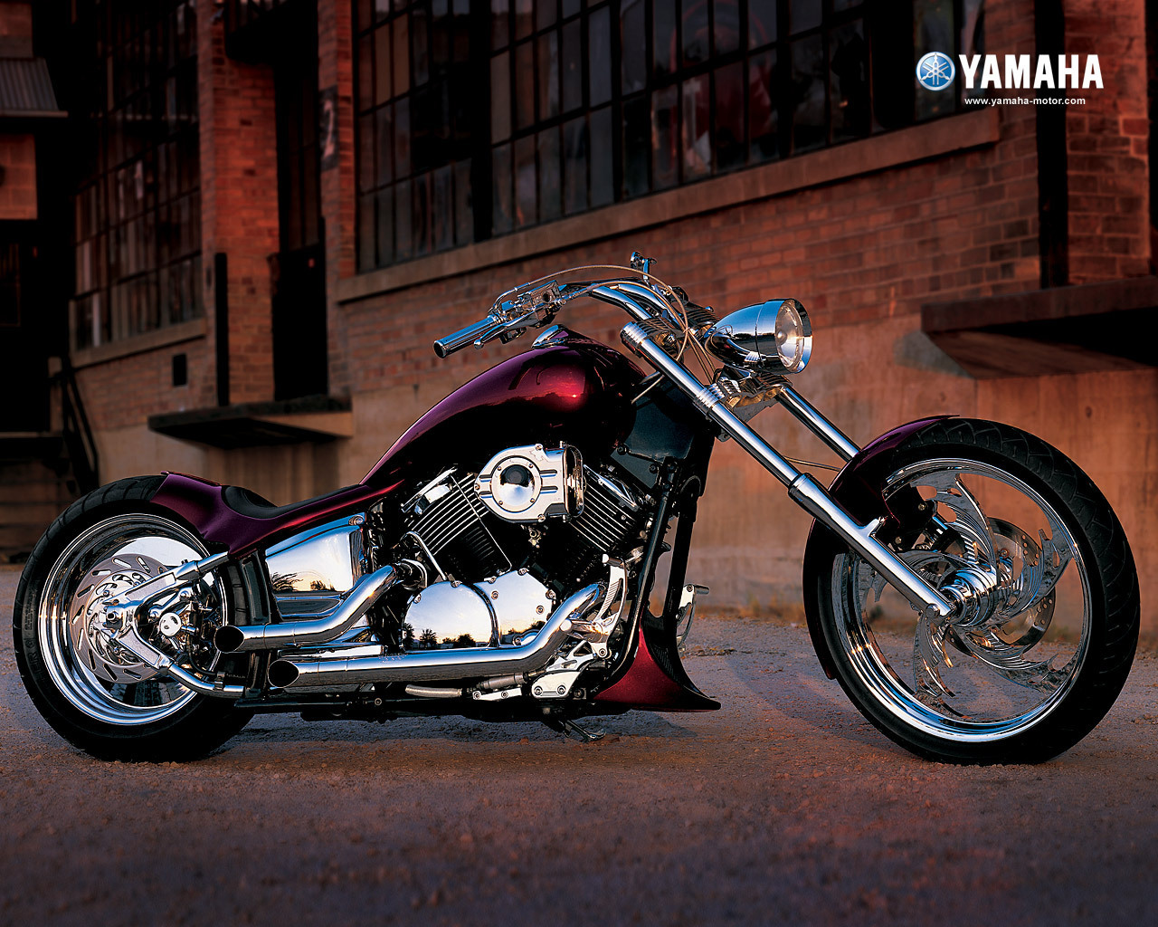 Motorcycles yamaha chopper