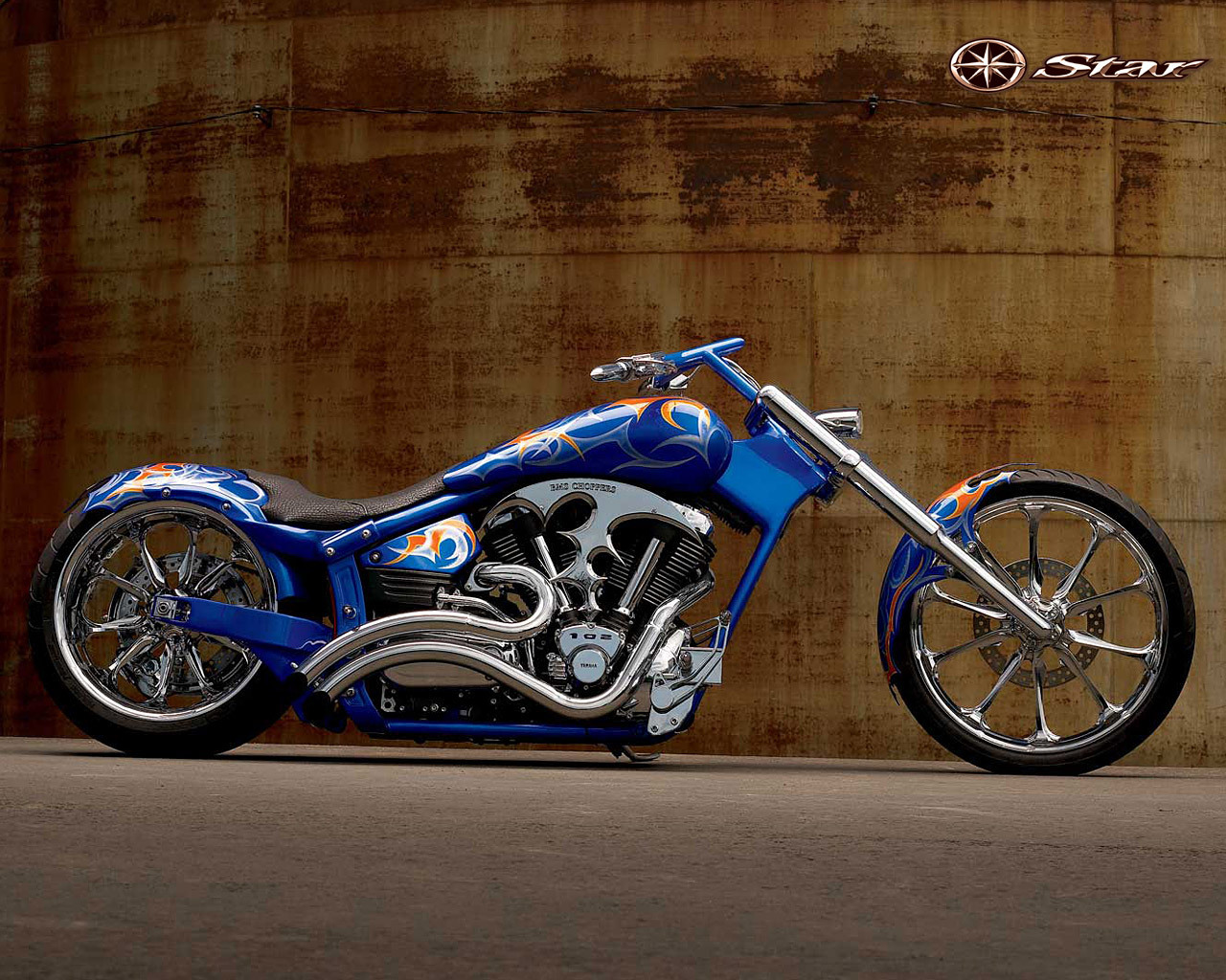 chopper motorcycles wallpaper - photo #4