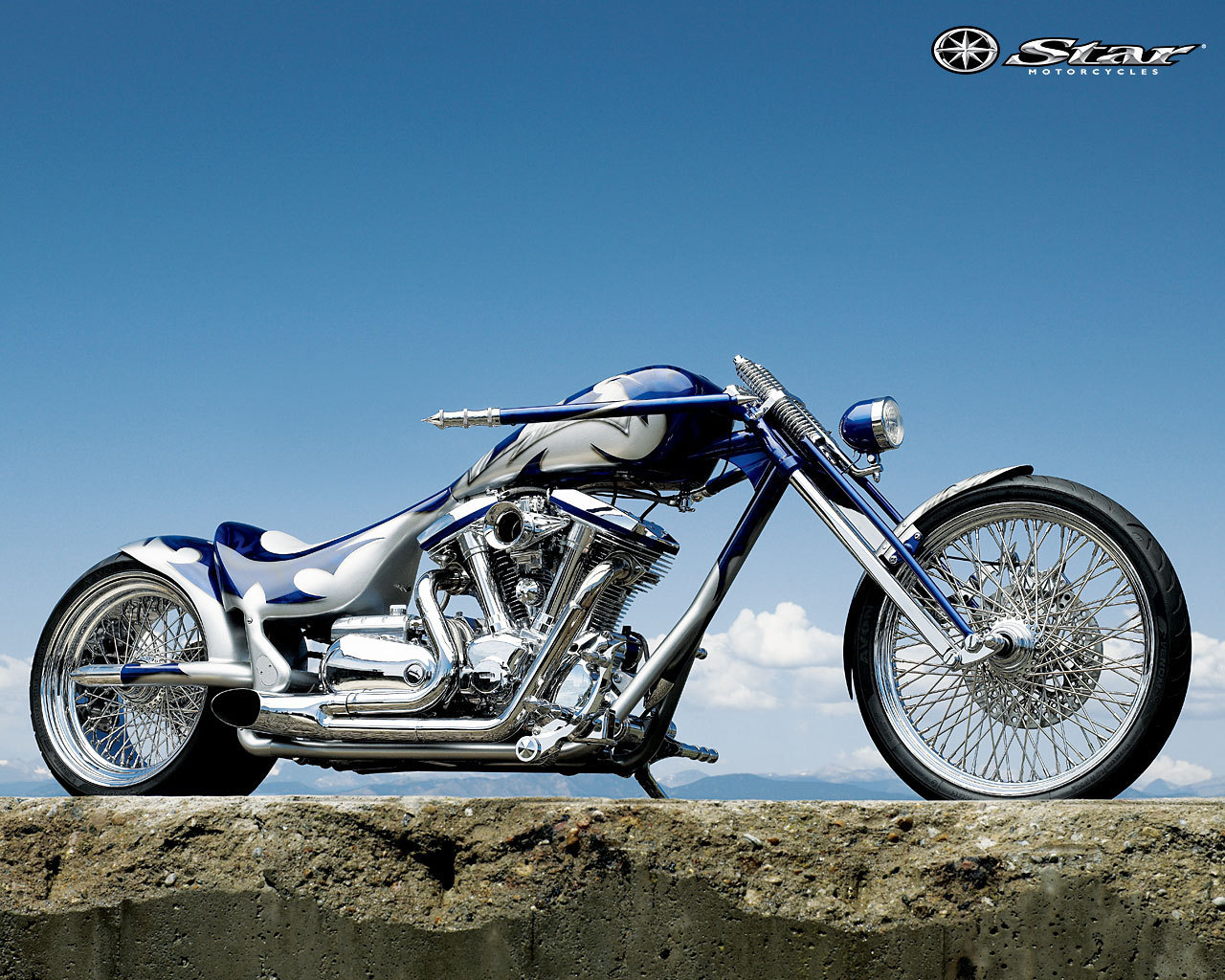 Yamaha Chopper Motorcycle 1280 x 1024 · 358 kB · jpeg