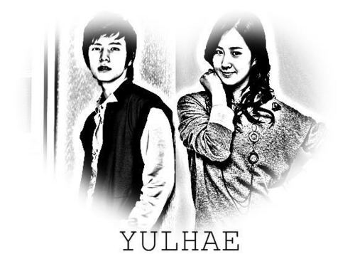 Super Generation: Super Junior & Girls' Generation wallpaper containing a portrait entitled YulHae (Yuri & Donghae)