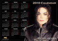 a 2010 Michael Jackson Calendar - michael-jackson photo