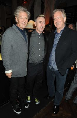 alan Rickman and Ian McKellen