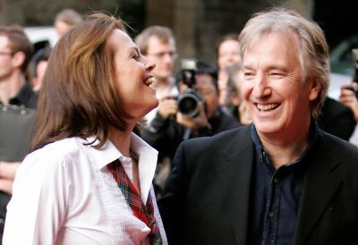alan rickman and Sigourney weaver