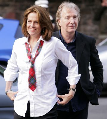 alan rickman and Sigourney weaver