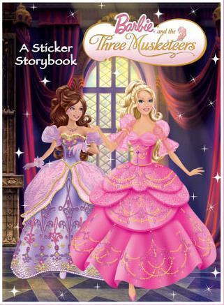 Barbie films achtergrond entitled barbie and the three musketeers
