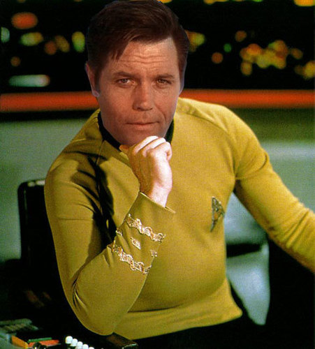Everybody wants to be James T. Kirk