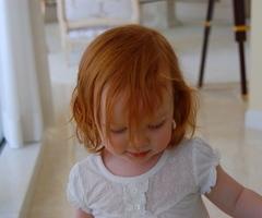 cute redhead girl