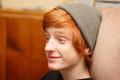 cute redhead nerd