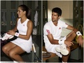 djokovic and ivanovic sexy - ana-ivanovic wallpaper