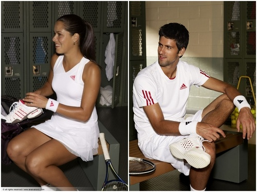 Novak Djokovic wallpaper called djokovic and ivanovic sexy