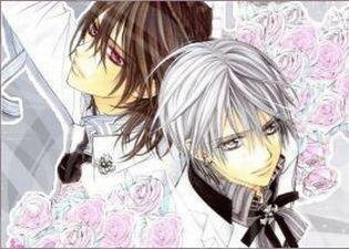 kaname amp zero wallpaper vampire knight photo 17265567