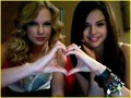 selena and taylor - taylor-swift-and-selena-gomez photo