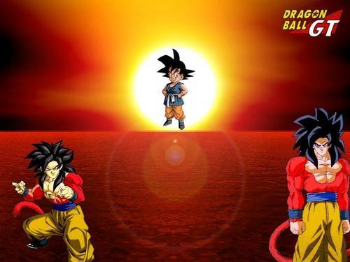 ssj4 Goku GT