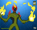 swampfire - ben-10-alien-force-2011 wallpaper