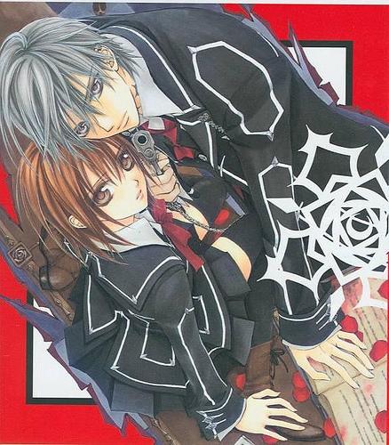 yuuki & zero_vampire knight