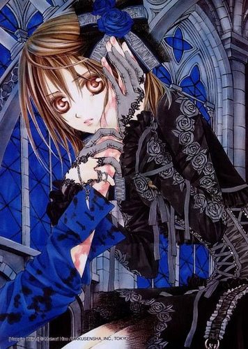 Vampire Knight karatasi la kupamba ukuta possibly containing anime entitled yuuki_vampire knight