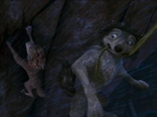 """Kate! Grab my tail!!"""