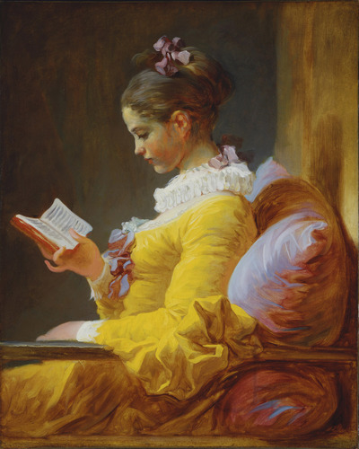 """The Reader"" (Fragonard)"