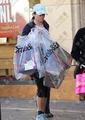 28/11/10 - Nikki makes Christmas shopping - twilight-series photo
