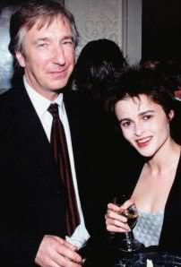 Alan Rickman and Helena Bonham Carter