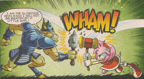 Amy Rose Vs. the Iron King