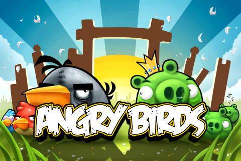 Angry Birds wallpaper possibly with anime called Angry Birds