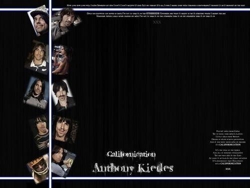 Anthony Kiedis achtergrond