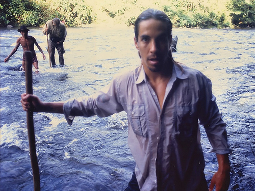 Anthony Kiedis in Borneo