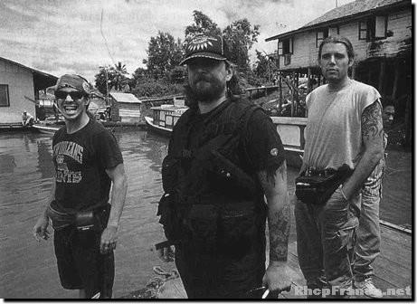 Anthony Kiedis in Borneo