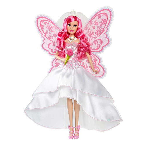 Barbie Movies wallpaper called Barbie A Fairy Secret Bride Doll