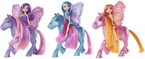 Barbie A Fairy Secret fate and Ponies
