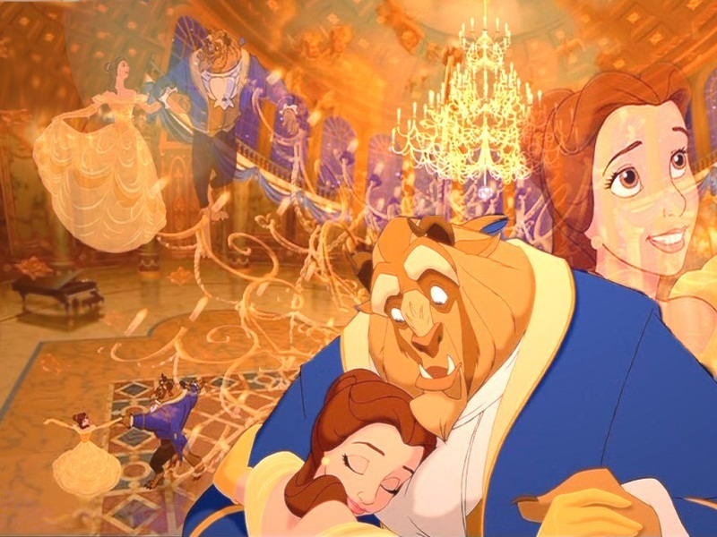 Beauty And The Beast Wallpaper For Desktop