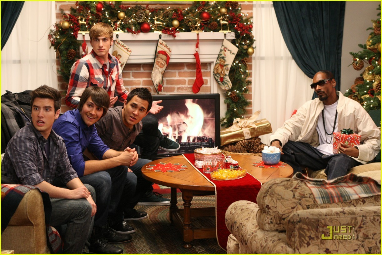 big time rush images big time rush all i want for christmas is you hd wallpaper and background photos - Big Time Rush Christmas