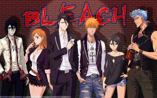 animé Bleach fond d'écran entitled Bleach