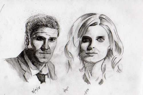 bones and Booth sketch