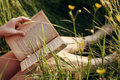 Buttercups and Books - reading photo