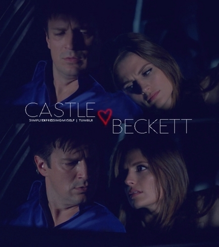 istana, castle & Beckett <3