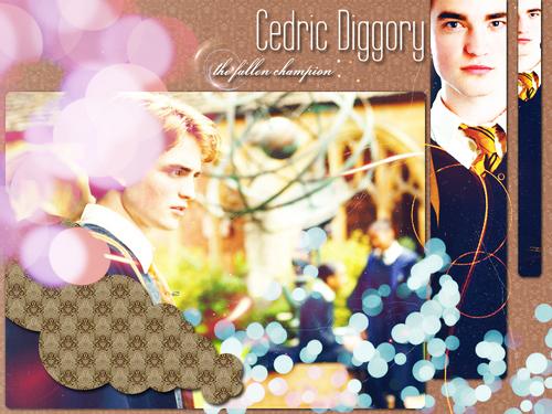 Cedric Diggory fonds d'écran