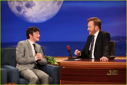 Chris Colfer drops by Conan on Monday (November 29)