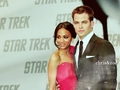 Chris and Zoe - chris-pine wallpaper
