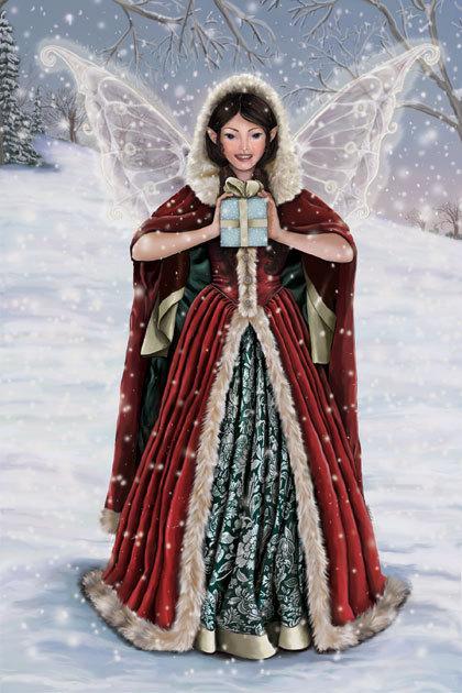 Christmas Fairy - yorkshire_rose Photo (17383327) - Fanpop