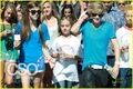 Cody walking with Zach Bonner