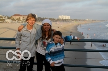 Cody with his family