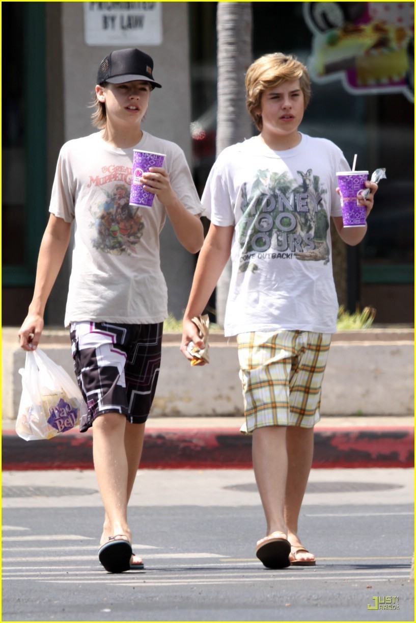 Dylan Sprouse and Cole Sprouse 2014