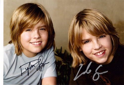 The Sprouse Brothers wallpaper containing a portrait entitled Cole and Dylan