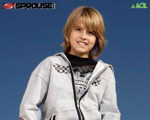 Cole Sprouse 壁纸 possibly containing a 运动衫 and a leisure wear titled Cole