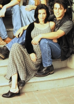 Courteney Cox and Matt LeBlanc